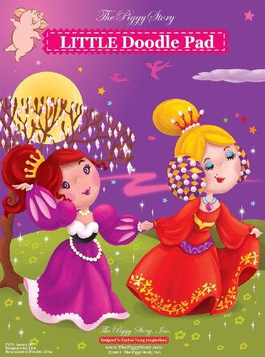 Piggy Story Little Doodle Pad, Pretty Princess - 1