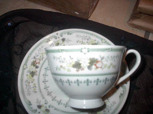 Royal Doulton Fine China Provencal #Tc1034 Footed Tea Cup England