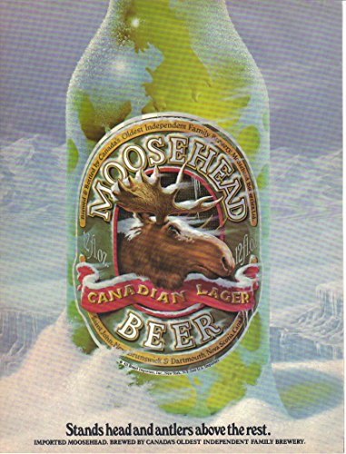 vintage-print-ad-moosehead-beer-canada-stands-head-and-antlers-above-the-rest-1988