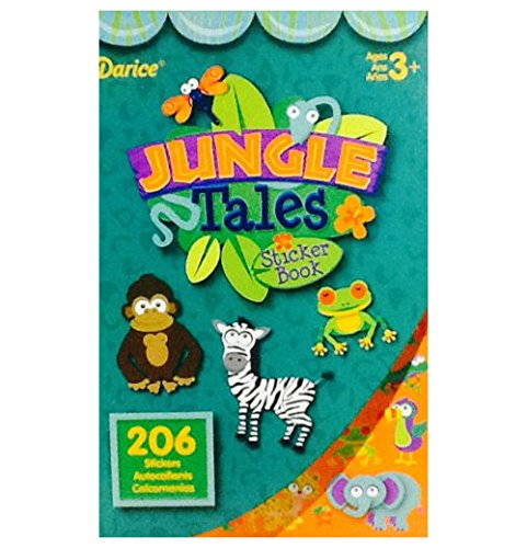 Jungle Tales Sticker Book - 1