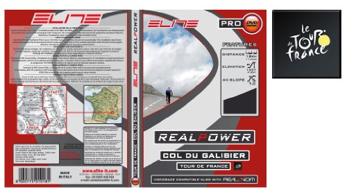Elite DVD Col Du Galibier Real Axiom / Real Power Accessoire trainer pour vélo