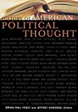 img - for History of American Political Thought (Applications of Political Theory) book / textbook / text book