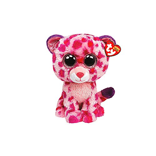 "Claire's Accessories Ty Beanie Boos Plush Glamour the Leopard - 6"" Small - 1"