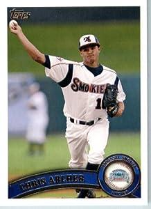 2011 Topps Pro Debut Baseball Card # 255 Chris Archer - Tennesse Smokies - MiLB... by Topps