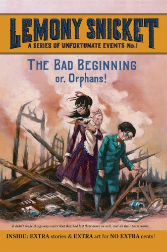 The Bad Beginning (Turtleback School & Library Binding Edition) (Series of Unfortunate Events (Pb))
