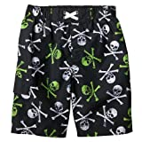 Boys' Swimwear Mossimo Supply Co. Ebony Skull Swim Short