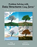 img - for By Mark J. Guzdial Problem Solving with Data Structures Using Java: A Multimedia Approach (1st First Edition) [Paperback] book / textbook / text book