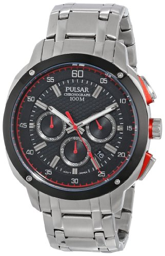 Pulsar Sport Black Dial Men's Watch #PT3395