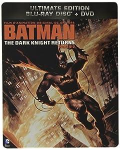 Batman : The Dark Knight Returns - Partie 2 - Combo Blu-Ray + DVD - Steelbook format Blu-Ray - Collection DC COMICS [Blu-ray] [Combo Blu-ray + DVD - Édition boîtier SteelBook]
