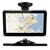 "CARCHET® Car 7"" GPS Navigation Bluetooth AV-IN+Wireless Transmitter+Reverse Camera FM New"