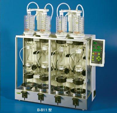 ソックスレー抽出装置 B-811(LSVガラス付)