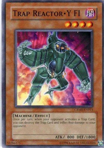 Yu-Gi-Oh! - Trap Reactor-Y FI (CRMS-EN013) - Crimson Crisis - Unlimited Edition - Common by Yu-Gi-Oh!