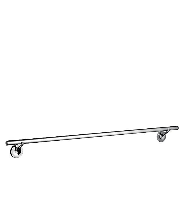 Hansgrohe 40808000, Porta asciugamani Axor Starck, in metallo cromato 800 mm
