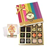 Chocholik Luxury Chocolates - Luxury Collection Of Choco Box With Birthday Card