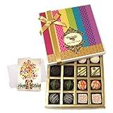 Luxury Collection Of Choco Box With Birthday Card - Chocholik Belgium Chocolates