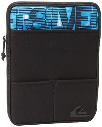 Quiksilver Men's Deception Briefcase, Black/Blue, One Size