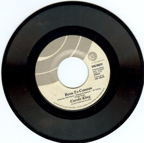 Been to Canaan Bitter with the Sweet, 45 RPM Single by Carole King