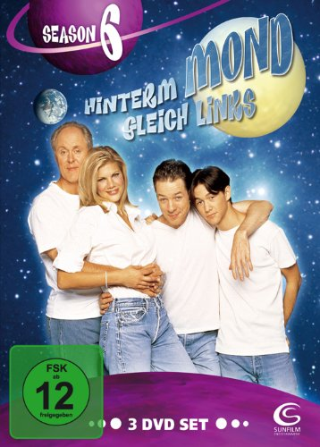 Hinterm Mond gleich links - Season 6 (3 DVDs)