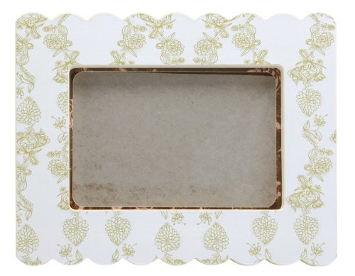 Cid Pear Baby Photo Frame, Pink Daisy
