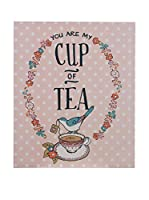 Premier Interior Panel Decorativo Pretty Things Cup Of Tea