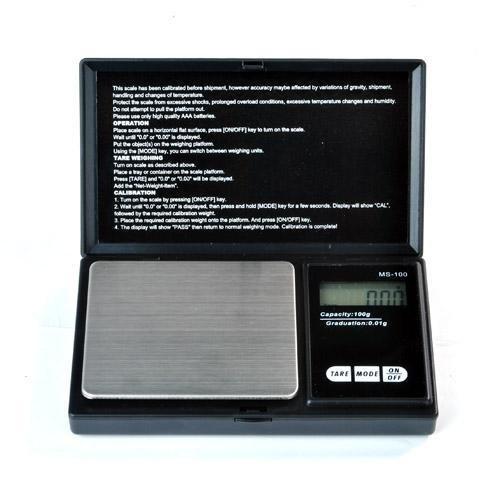 Mini-Balance de poche - haute précision : 1000g/0,1g