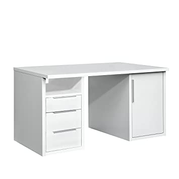 Arte m bureau work 3 tiroirs 1 porte porte for Bureau 85 cm largeur