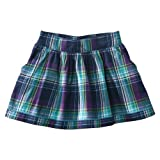 Cherokee® Girls' Plaid Skirt - Navy/Purple