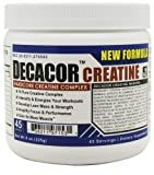 Decacor - Creatine - Best Creatine Supplements - Best Creatine Powder that will Enhance Your Muscle Growth, Power and Recovery