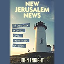 New Jerusalem News: A Novel (       UNABRIDGED) by John Enright Narrated by J. Paul Guimont