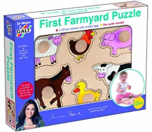Première Puzzle de cour de ferme