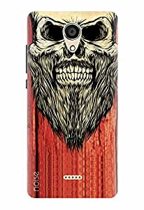Noise Designer Printed Case / Cover for Micromax Canvas unite 4 Q427 / Graffiti & Illustrations / Bearded Skull Design