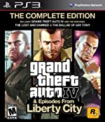 Amazon.com: Grand Theft Auto IV & Episodes from Liberty City: The Complete Edition: Playstation 3: Video Games