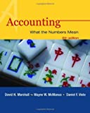 img - for Accounting: What the Numbers Mean by David Marshall (2003-02-28) book / textbook / text book