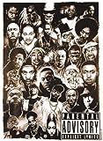 Empire 15617 Parental Advisory - Rap Gods, Musik Poster ca. 91,5 x 61 cm