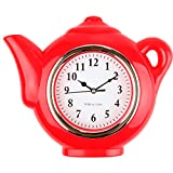 Lily's Home Teapot Kitchen Clock
