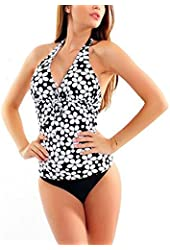 Figure Optimizer Lady´s Push Up Tankini swimsuit two pieces 1039AS-W300-f3911