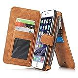 CaseMe Safari Brown Genuine Leather Magnetic Phone Case - Best Reviews Guide