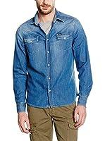 RIFLE Camisa Vaquera (Azul)
