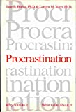 img - for Procrastination - Why You Do It, What To Do About It book / textbook / text book