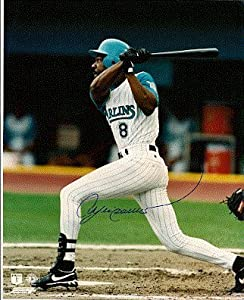 Autographed Hand Signed Hof Andre Dawson Florida Marlins 8x10 Photo by Hall of Fame Memorabilia
