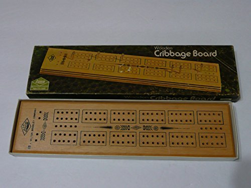 Wooden Cribbage Board - 1