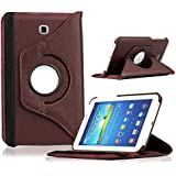 "360° Rotary (Swivel Stand) PU Leather Folio Flip Cover Case For SamSung Galaxy Tab 3 7.0"" Inch SM T210 T211 T217..."