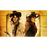 Posterhouzz Movie Bandidas Penelope Cruz Salma Hayek HD Wallpaper Background Fine Art Paper Print Poster