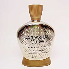 buy Kardashian Glow Black Bronzer New Tanning Lotion 13.5 Fl. Oz Free Of Parabens, Hemp, Gluten, Aloe, Silicone And Sulfates