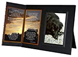 "Pet Loss Sympathy Gift ,""I'm Still Here"" Poem, Memorial Picture Frame Keepsake, with optional custom photo editing"
