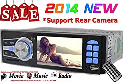 See Car Stereo Mp3 Radio 1 DIN in Dash 12v Sd/usb Fm Player 3.6' Audio Video New Details