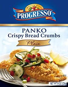 Progresso Panko Style Breadcrumbs, 8-Ounce Boxes (Pack of 12)