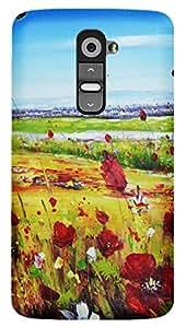 TrilMil Printed Designer Mobile Case Back Cover For LG G2