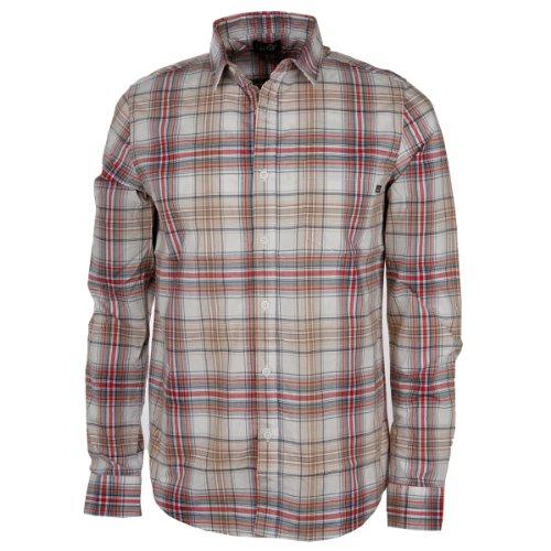 Cheap Monday -  Camicia Casual  - Uomo Rot/Beige Small
