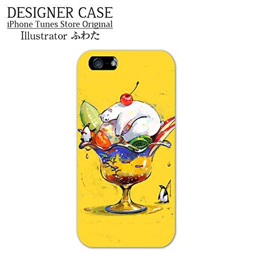 iPhone6S/6ソフトケース◇「しろくまパフェ」人気イラストレーター・ふわた アイフォンケースカバー4.7インチ